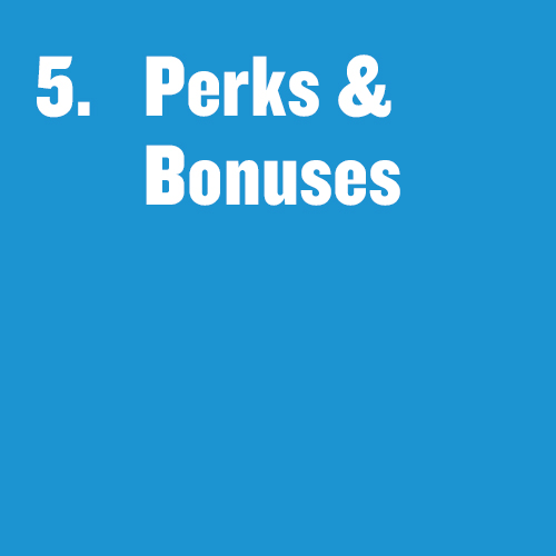 "Tile that says ""Perks & Bonuses"""