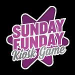 Logo for Sunday Funday Kiosk game